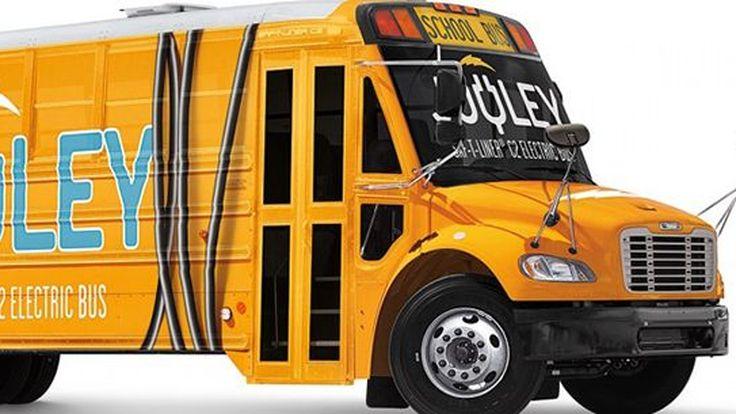 """Daimler เผยโฉม """"Jouley"""" รถโรงเรียนพลังงานไฟฟ้ารุ่นแรก"""