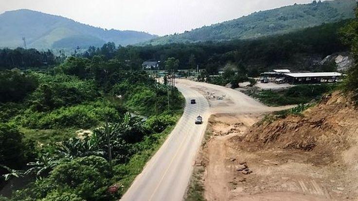ทางหลวงขยายถนน ทล.408 สาย นาทวี-บ้านประกอบ เชื่อมโยงการค้ามาเลเซีย