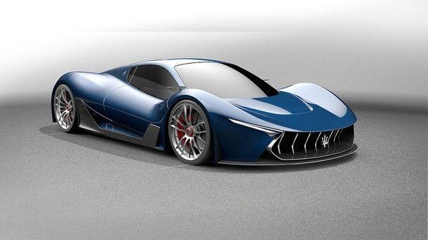 ภาพการออกแบบ Maserati MC-63 Hypercar รุ่นแรก ที่ใช้ LaFerrari เป็นต้นแบบ
