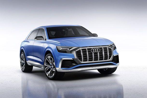 [Detroit 2017] Audi Q8 Concept ร่างทรงครอสโอเวอร์แฟล็กชิพรุ่นใหม่