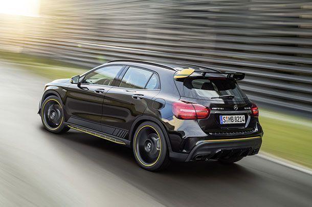 [Detroit 2017] เสริมหล่ออีกนิด Mercedes-AMG GLA45 พ่วงแพ็คเกจใหม่