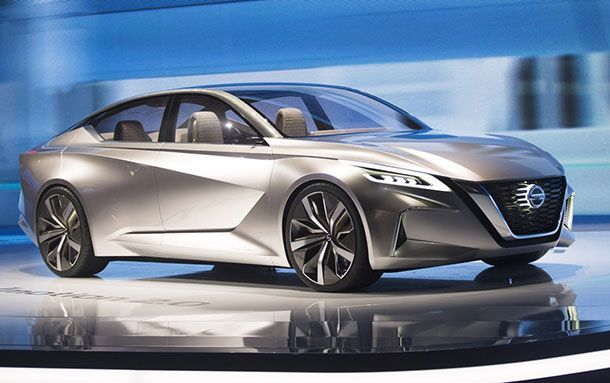 [Detroit 2017] Nissan  Vmotion 2.0 Concept ตอกย้ำเอกลักษณ์การออกแบบใหม่