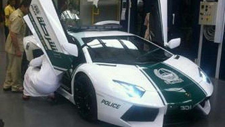 สุดยอด! ตำรวจดูไบใช้ Lamborghini Aventador เป็นรถสายตรวจ
