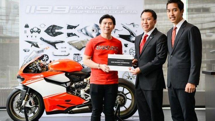 Ducati 1199 Superleggera  4 ล้านกว่าบาท  ถูกส่งมอบให้ลุกค้าคันแรกในไทยแล้ว