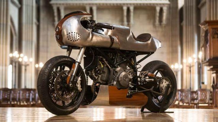 Ducati Hypermotard796 Cafe' Racer งานแต่งสุดดิบของโมตาร์ดตัวแรง