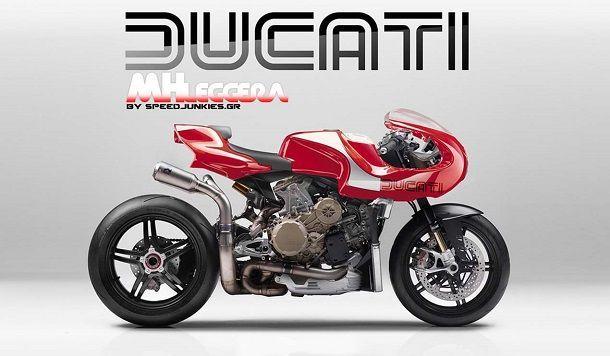 Ducati MHLeggera Concept จับตัวเทพคันใหม่มาแปลงเป็น Mike Hailwood