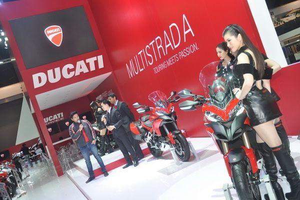 Ducati เปิดตัว Multistrada ครั้งแรกในงานมอร์เตอร์โชว์ พร้อมรับเงื่อนไขสุดพิเศษ