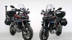 ตำรวจอิตาลีรับมอบ Ducati Multistrada1200S และ Multistrada1200 Enduro เป็นหน่วยม้าเร็ว