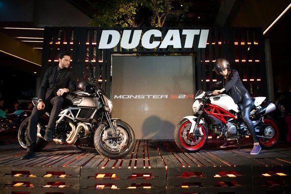 Ducati Thailand เปิดตัว Diavel ใหม่ พร้อมปลุกตำนาน Monster S2R  โฉมล่าสุด