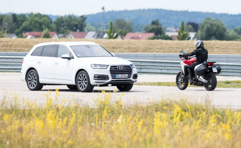 Ducati กำลังพัฒนาระบบ Vehicle-to-everything เพื่อสร้างรถจักรยานยนต์ที่ปลอดภัยที่สุดในโลก