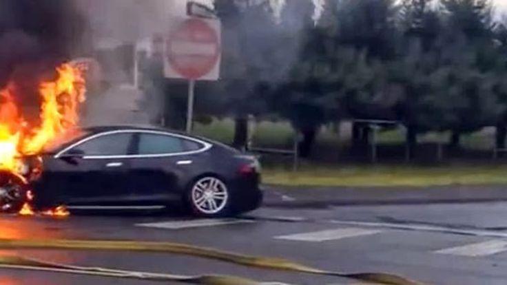 Tesla โทษนักดับเพลิงทำ Model S ไฟลุก ยืนยันใช้แบตเตอรี่ปลอดภัยกว่าถังน้ำมันแบบรถทั่วไป