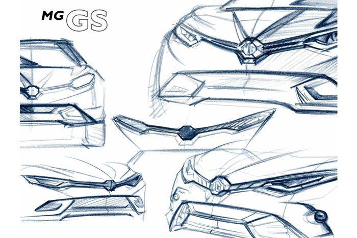 เผยทีเซอร์ MG GS สเปกยุโรป เปิดตัวกลางปีนี้
