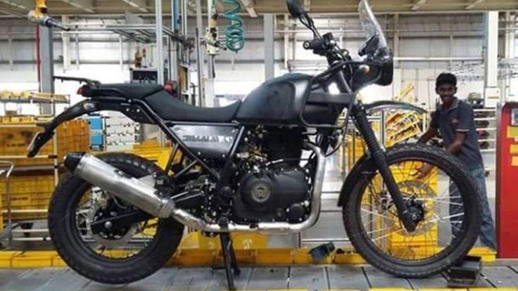 รอยัล เอ็นฟิลด์ ฮิมารายัน แอดเวนเจอร์ 400 ซีซี สภาพเกือบสมบูรณ์หลุดจากไลน์ผลิตในอินเดีย