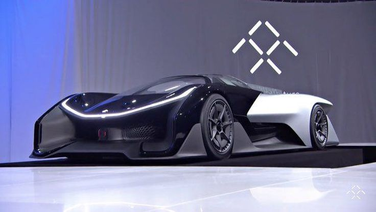 ฟาราเดย์ ฟิวเจอร์ เอฟเอฟซีโร1 รถต้นแบบพลังไฟฟ้า 1,000 แรงม้า