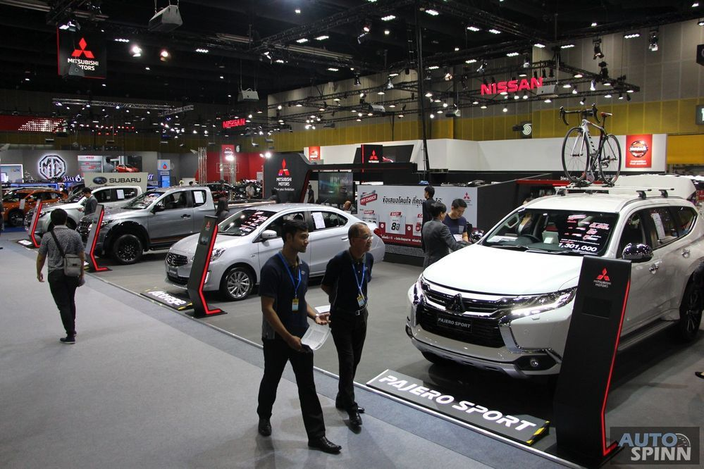 [FAST2018] พาชมรถยนต์และมอเตอร์ไซค์รอบๆงาน - รถใหม่ป้ายแดงในงาน