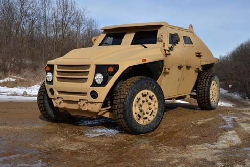 FED ALPHA รถหุ้มเกราะประหยัดน้ำมัน พัฒนาโดย Ricardo และกองทัพอเมริกา