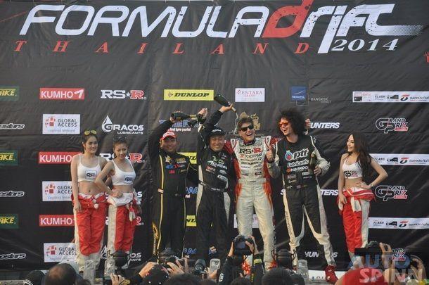 Fedric Aasbo ซิวแชมป์ Formula Drift Thailand 2014