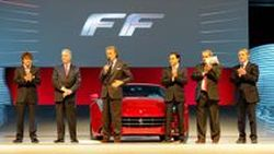 Ferrari เผยโฉม FF ตัวจริงสวยจริงที่ Maranello ก่อนเปิดตัวอย่างเป็นทางการที่เจนีวา