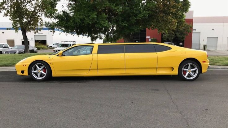 อย่างแนว Ferrari 360 เวอร์ชั่น Limousine สุดยาว กับค่าตัว 3.4 ล้าน ใน eBay
