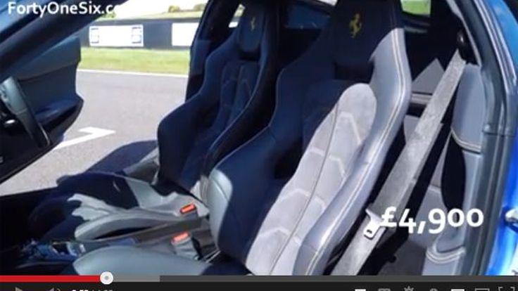 รวยจริง ชมของแต่ง Ferrari 458 Italia ราคารวมทั้งคัน 4.5 ล้านบาท