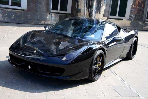 Ferrari 458 Italia Black Carbon ชุดแต่งล่าสุดจาก Anderson Germany