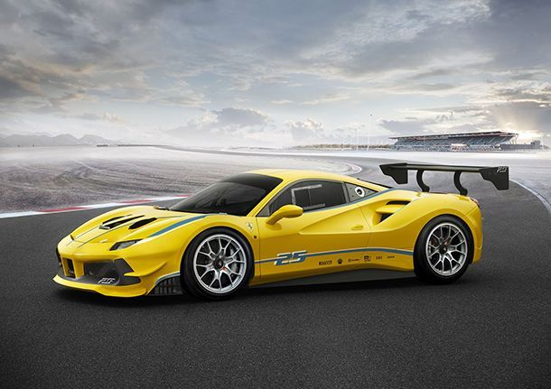 Ferrari 488 Challenge ตัวแข่งหัวใจเทอร์โบชาร์จ