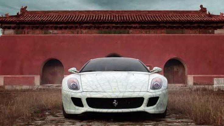 Ferrari 599 GTB Fiorano รุ่นพิเศษ เวอร์ชั่นจีน ผลิตเพื่อการประมูลไม่เกิน 1 โหล