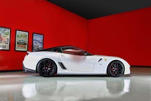 Ferrari 599 VX Coupe ซุปเปอร์คาร์ประทินโฉม เติมคาร์บอนไฟเบอร์โดย Vorsteiner