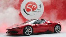 """ดีไซน์ในอนาคตของ Ferrari อาจถอดแบบซูเปอร์คาร์ """"J50"""""""