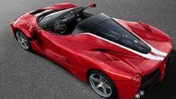 Ferrari LaFerrari Aperta คันสุดท้ายเคาะประมูล 330 ล้านบาท