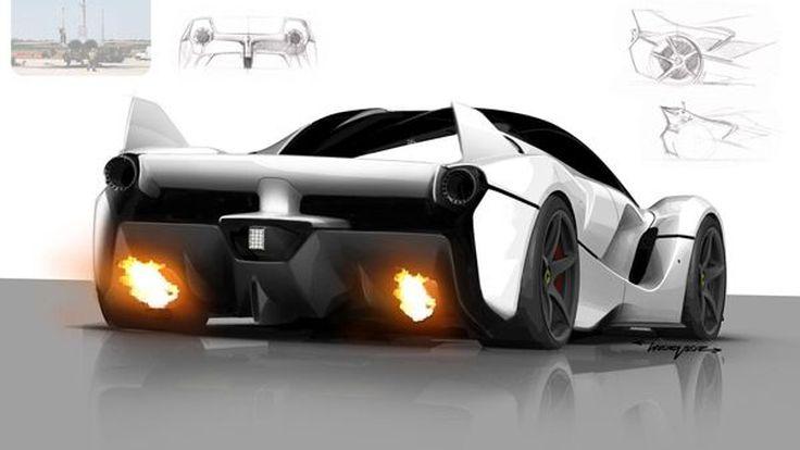 เปิดเบื้องหลังการดีไซน์ตัวโหด Ferrari FXX K