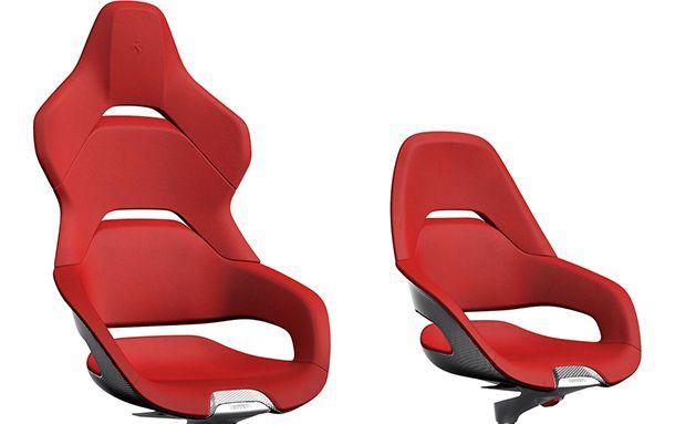 Ferrari นำเสนอเก้าอี้นั่งทำงานสุดเท่