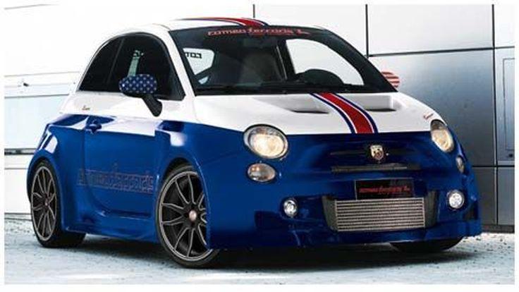 Romeo Ferraris จับ Fiat 500 แต่งสุดซิ่งโชว์ตัวที่ 2012 SEMA Show