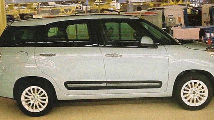 หลุดจากโรงงาน Fiat 500XL รถขนาดมินิรองรับผู้โดยสาร 7 ที่นั่งรุ่นล่าสุด