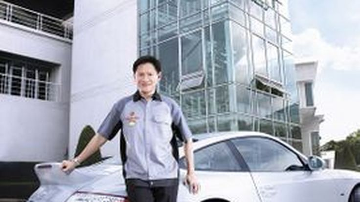 Finding your driving perfection , Using Michelin ทัชชะ ชัยปาณี President Porsche Club Thailand