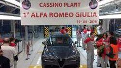 Alfa Romeo Giulia คันแรกออกจากสายการผลิตแล้ว