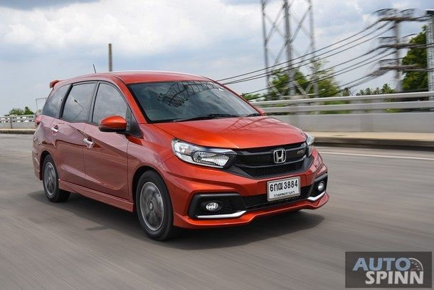 [First Impression] New Honda Mobilio อเนกประสงค์ 5 และ 7 ที่นั่ง ปรับหน้าใหม่ ภายในลงตัว ค่าตัวเริ่มต้น 6.59 แสนบาท