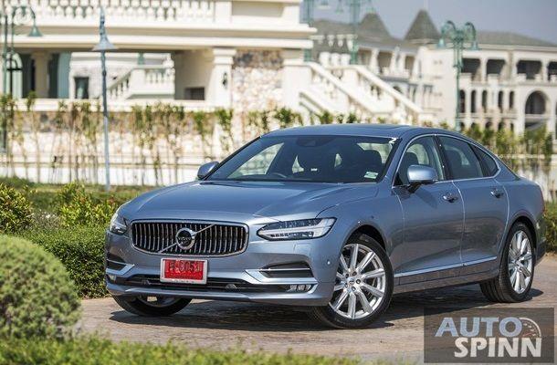 [First Impression] New Volvo S90 D4 มาดใหม่หล่อ หรู ผู้ดี เทคโนโลยีและความปลอดภัยแน่นคัน