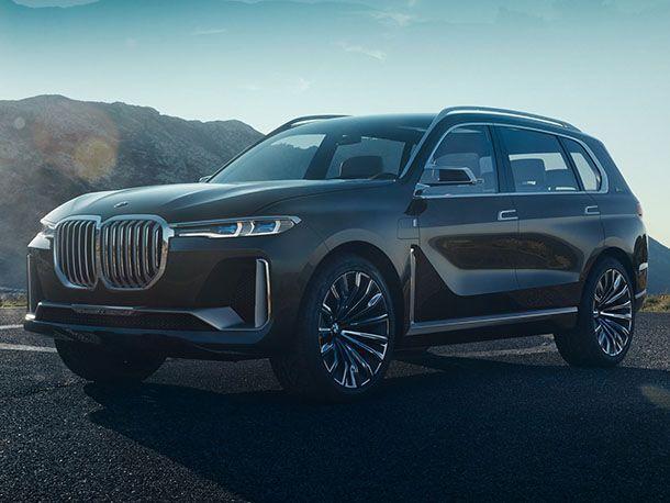 เปิดภาพชุดแรก BMW X7 iPerformance Concept สวยบึกบึนล้ำสมัย