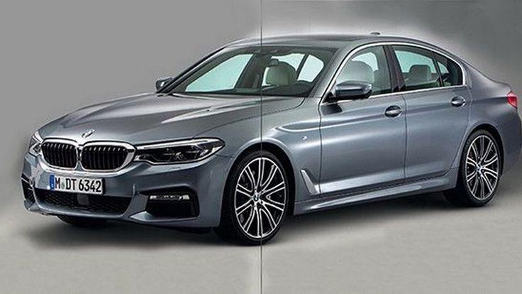 หลุดภาพแรก 2017 BMW 5-Series ก่อนเปิดตัวจริงในอีกไม่กี่ชั่วโมงข้างหน้า
