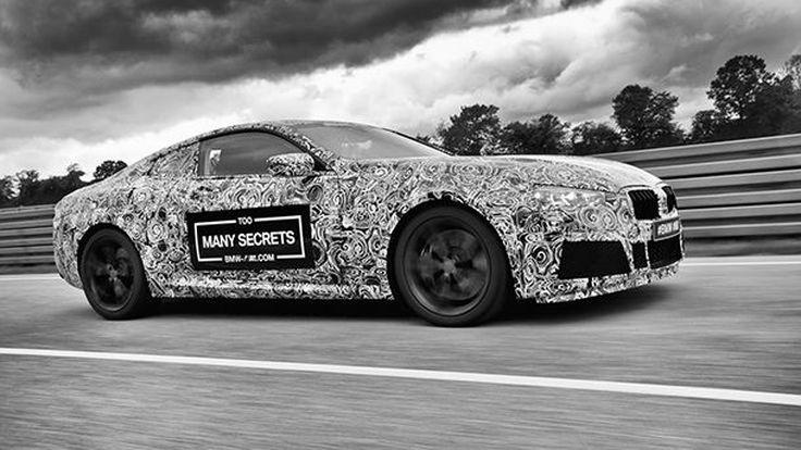 มาแน่! BMW เผยภาพแรก M8 สปอร์ตคูเป้ตัวโหด