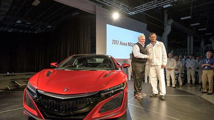 คันแรกมาแล้ว 2017 Acura NSX ส่งมอบให้ลูกค้า