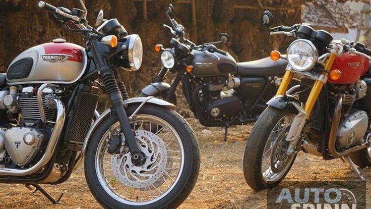 [First Ride] Triumph T120 และ Thruxton R สองอารมณ์ ต่างส่วนผสม แต่ว่าลงตัว
