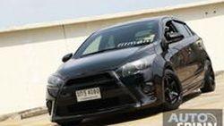 """[Spinn Garage] เปิดคอลัมน์ใหม่ กับ New Toyota Yaris ดำดุสุดเท่ """"BlackBee"""" จัดเต็มทุกรายละเอียดตามสเต็ป ..ของมันต้องมี !!"""