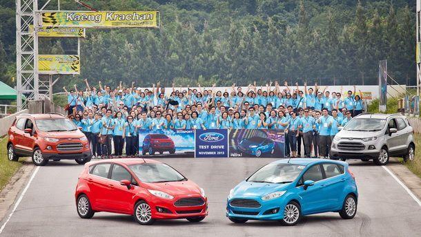 Ford ประเทศไทย เตรียมลุยเปิดตัว Fiesta ใหม่ เครื่องยนต์อีโคบู๊สต์ 1.0 ลิตร และ Ecosport ใหม่