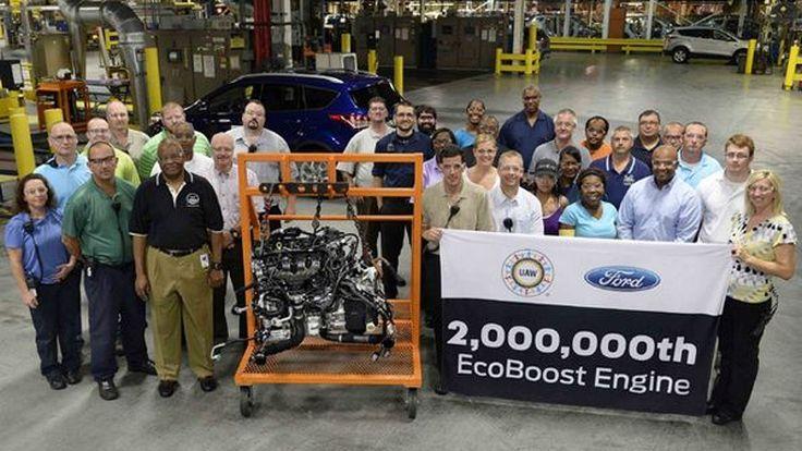 Ford เฮ! ฉลองผลิตเครื่องยนต์ EcoBoost ครบ 2 ล้านเครื่อง