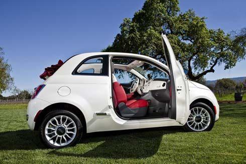 Fiat 500C รุ่นปี 2012 เวอร์ชั่นอเมริกา เจอกันที่ 2011 New York Auto Show