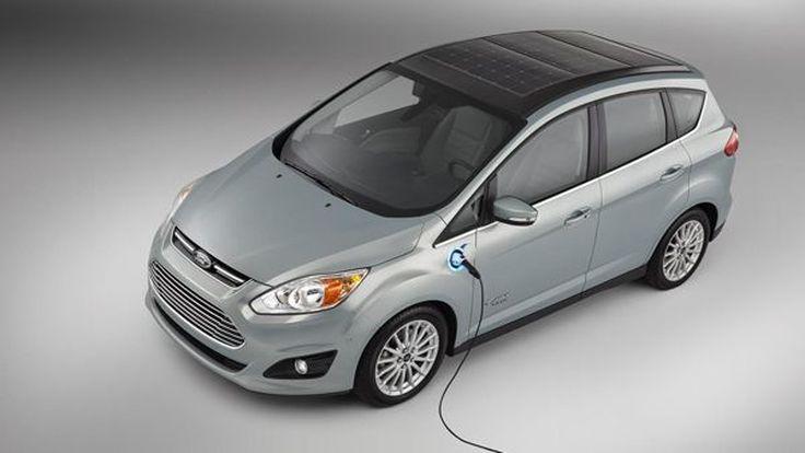 Ford เปิดตัว C-MAX Solar Energi มาพร้อมหลังคาโซลาร์เซลส์