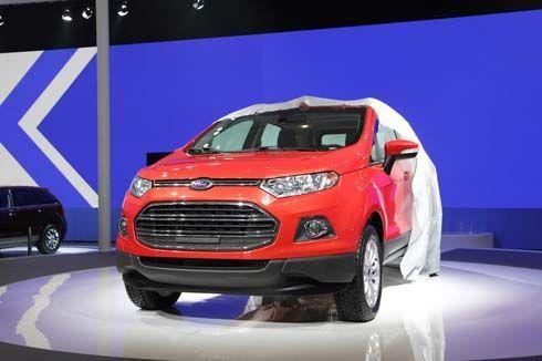 เปิดตัว Ford EcoSport รุ่น production มีผลิตในไทย จำหน่ายใน 100 ประเทศทั่วโลก