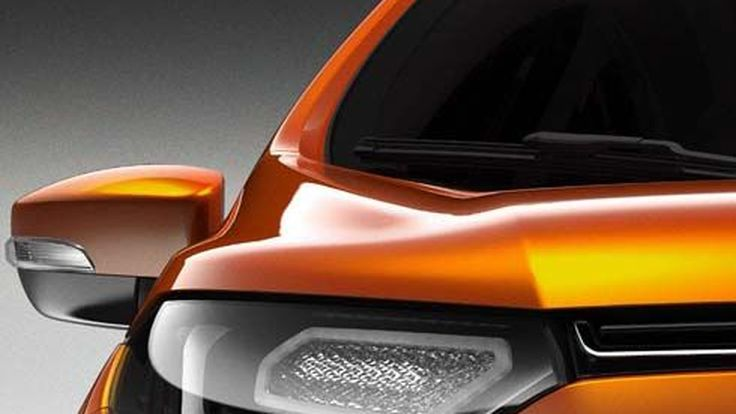 ภาพทีเซอร์ Ford EcoSport Concept รถ compact SUV เจาะตลาดประเทศเศรษฐกิจใหม่
